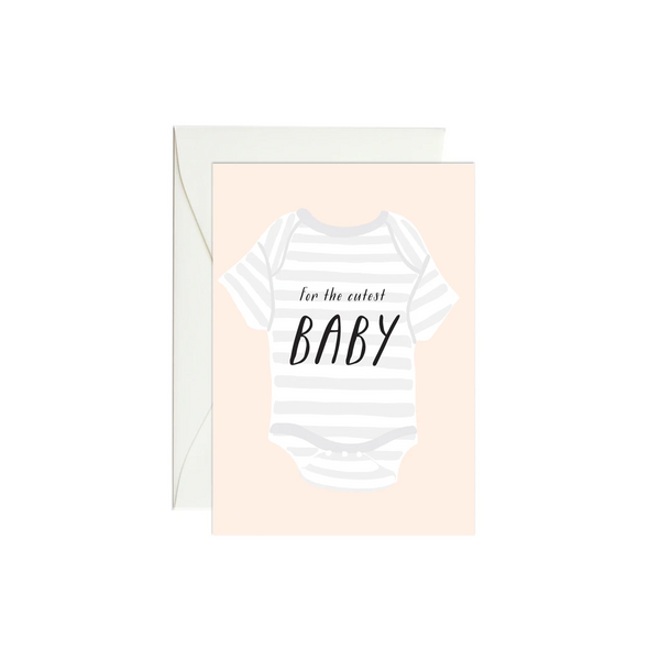 Baby Onesie Mini Enclosure Card