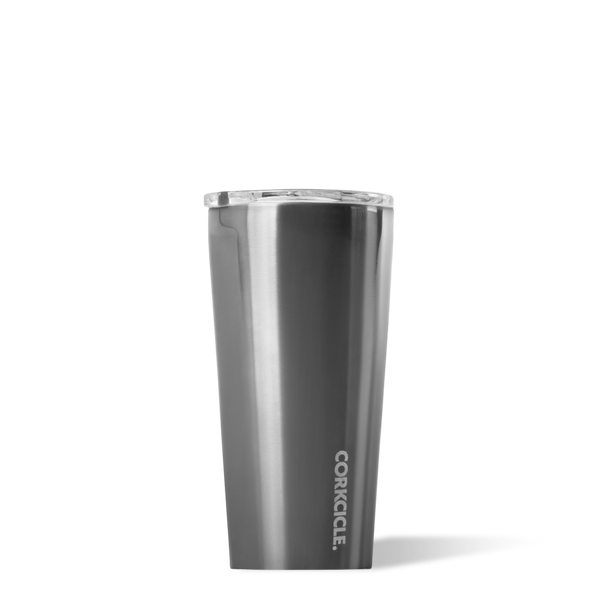 Metallic Tumbler - Gunmetal - 16oz.