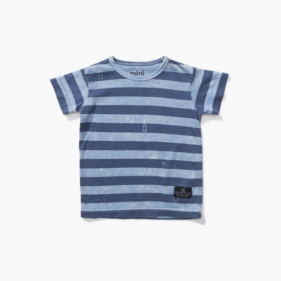 Hori Tee Washed Blue