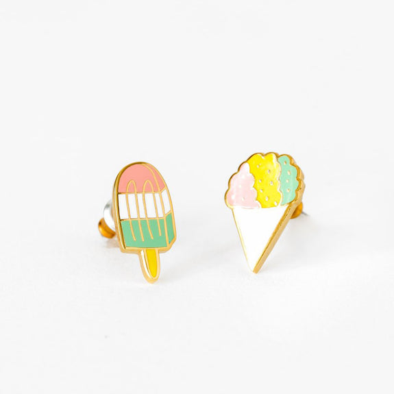 Sno Cone Earrings