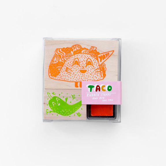 Stamp Kit Taco & Hot Pepper