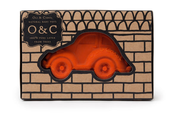 Beetle Car (Orange)