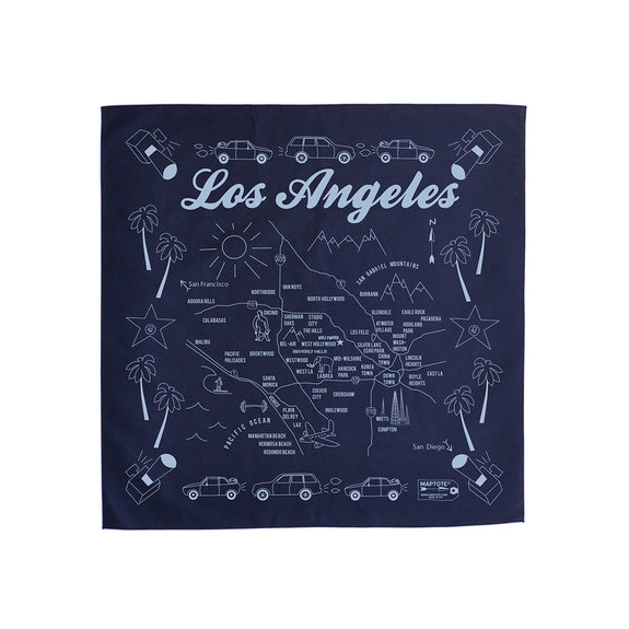 Los Angeles Bandana (Navy)