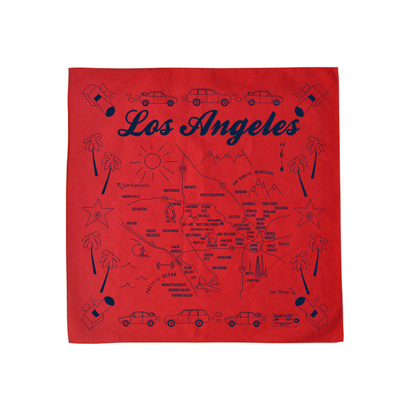 Los Angeles Bandana (Red)
