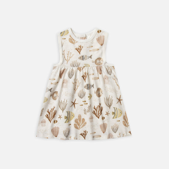 Layla Dress - Sea Life