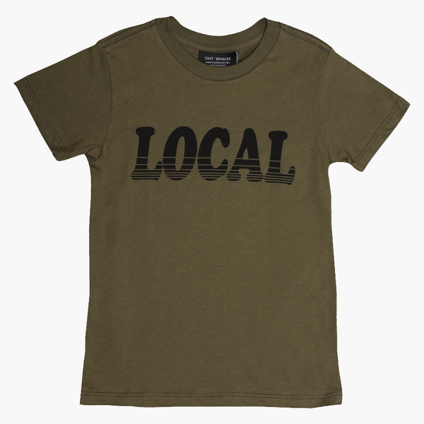 Local SS Tee Army Green