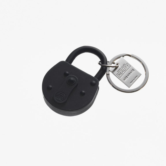 Black Reality Lock Keychain