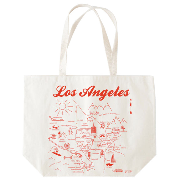 Los Angeles Beach Tote