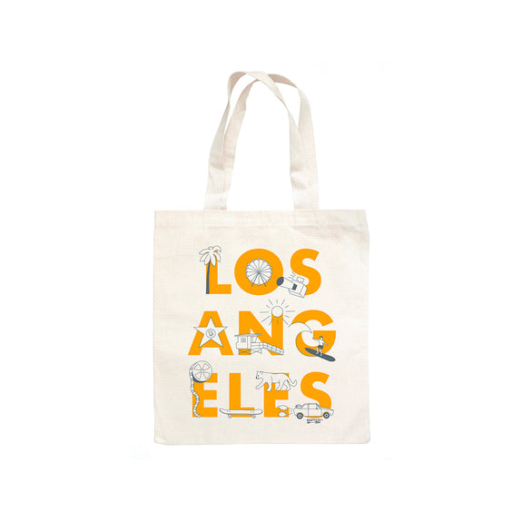 Los Angeles FONT Grocery Tote
