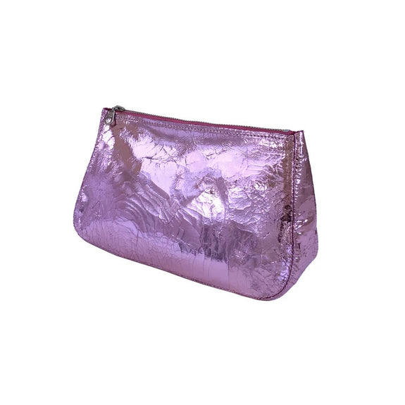 Fatty Pouch, Medium (Baby Pink Foil)