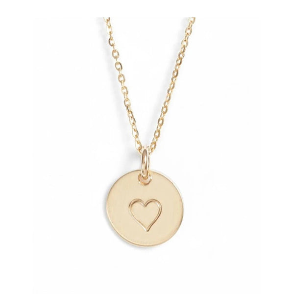 Mini Charm Necklace (Heart)