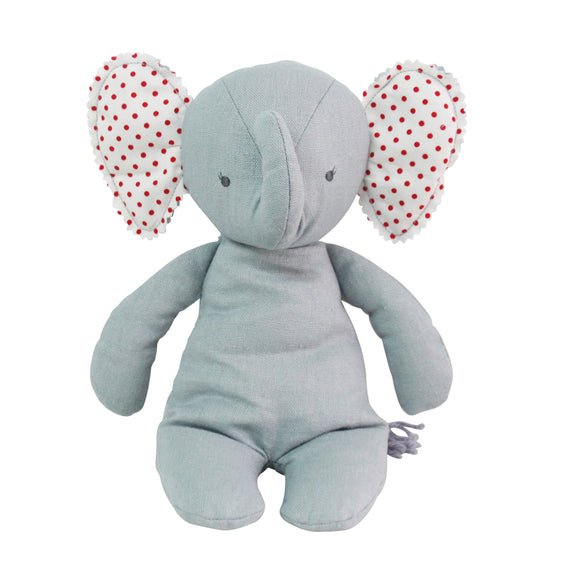 Baby Floppy Elephant - Grey