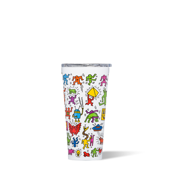 Keith Haring Tumbler - Pop Party - 16oz.
