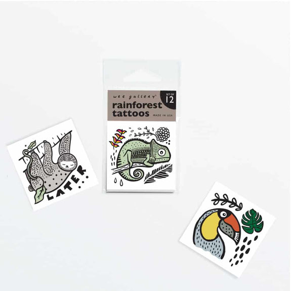 Temporary Tattoos - Rainforest