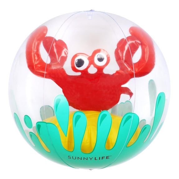 Inflatable Beach Ball Crabby