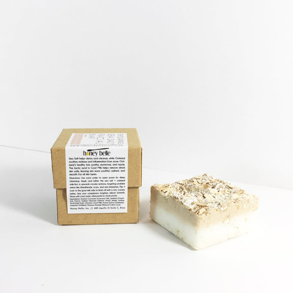 Sea Salt Oatmeal Facial Bar