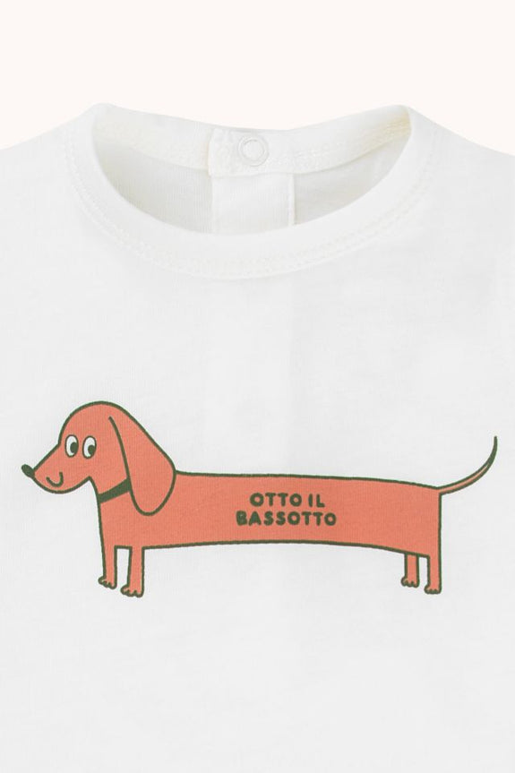 """Otto Il Bassotto"" Body - Off-White/Cinnamon"