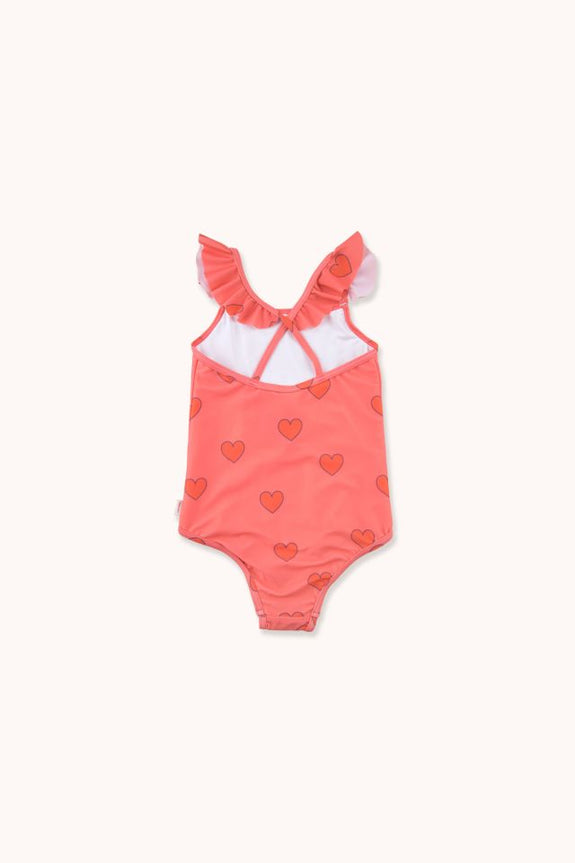 """Hearts"" Frills Swimsuit"
