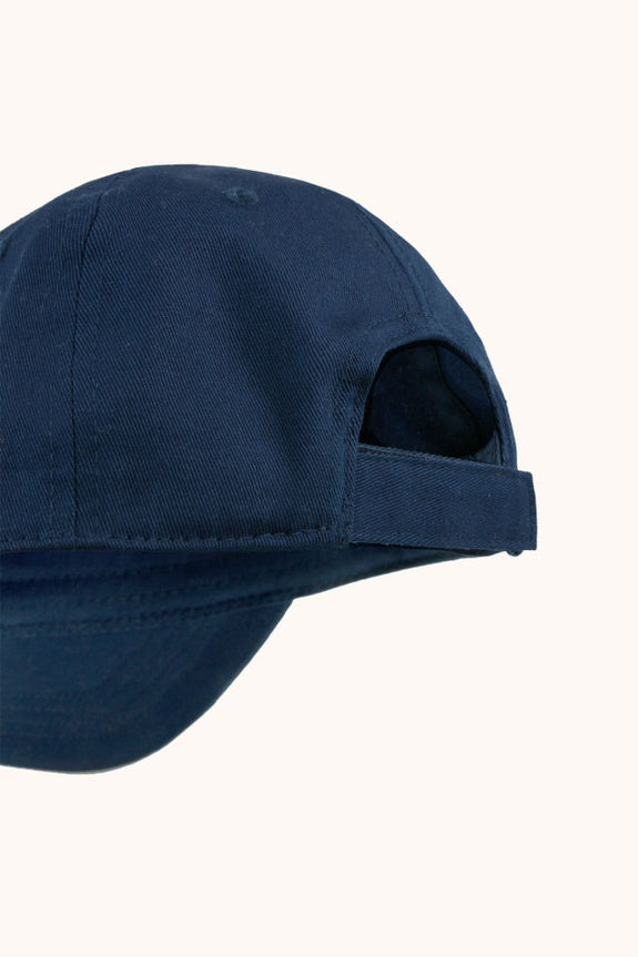 """Tiny"" Cap - Navy/Red"