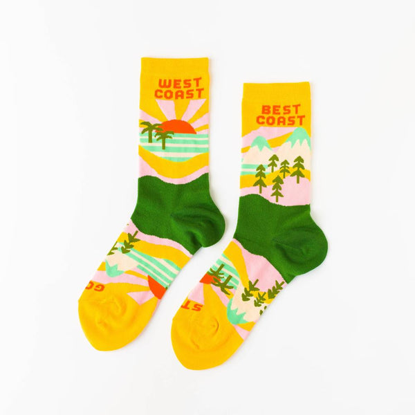 Women's Crew Socks Best Coast