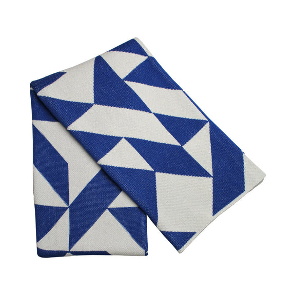 Scattered Eco Throw - Royal