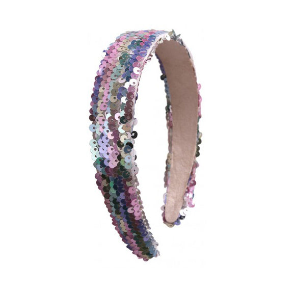 Sequin Headband - Pastel Unicorn