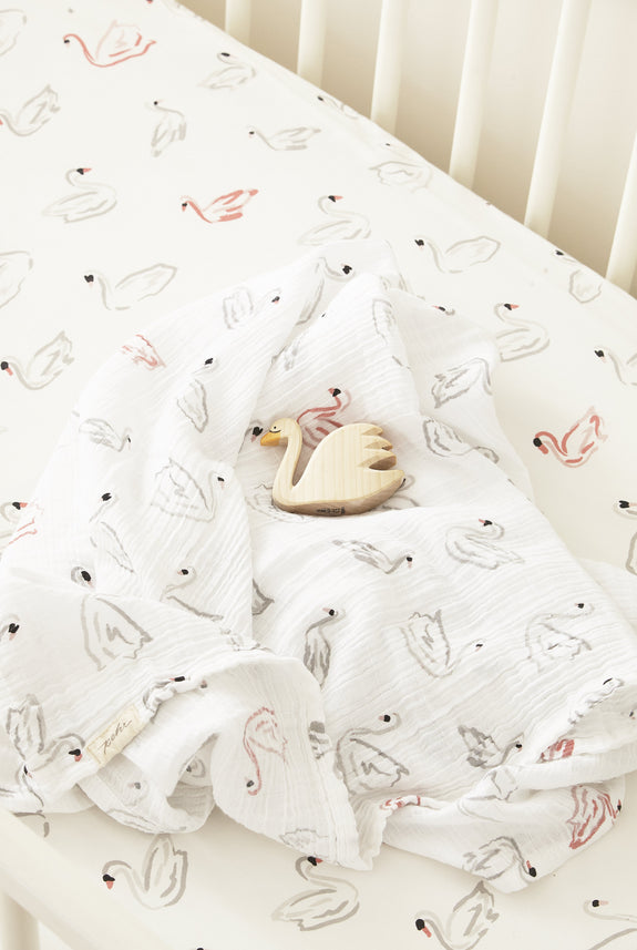 Swan Lake Swaddle
