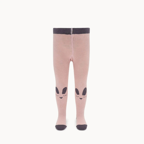 Thumper Bunny Face Tights Pink