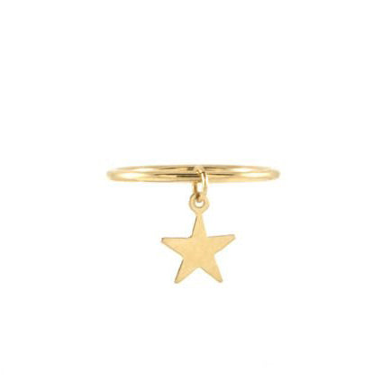 Tulum Star Charm Ring