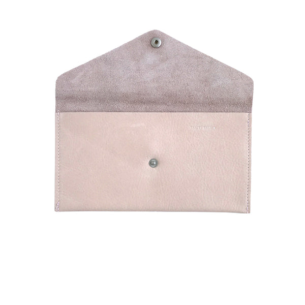 Large Violet Envelope Wallet - Cotton Candy