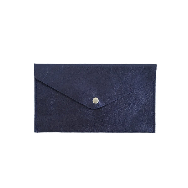 Large Violet Envelope Wallet - Ink