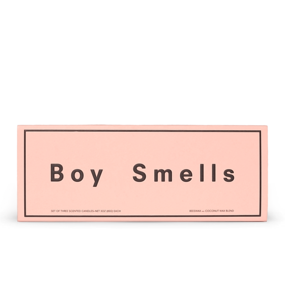 Boy Smells Candle Votive Set  Kush/Ash/Cedar Stack