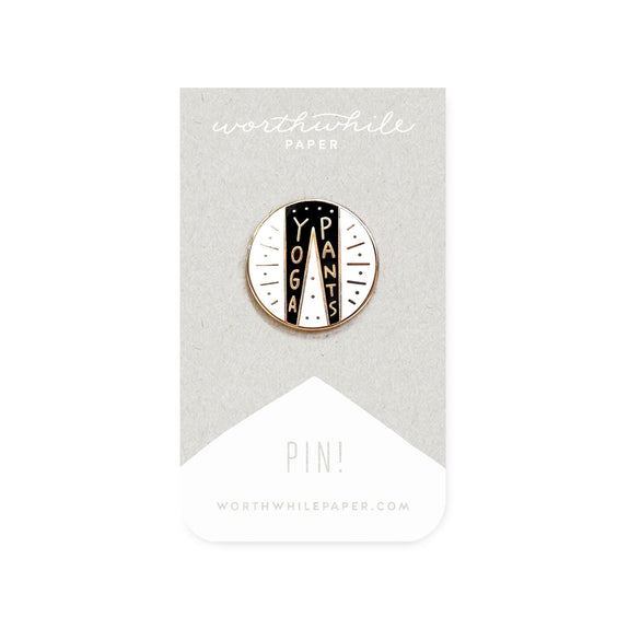 Enamel Pin - Yoga Pants