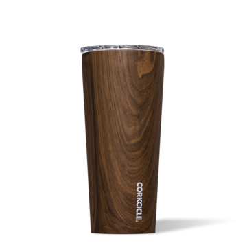 Corkcicle Tumbler - 16oz. - Walnut Wood