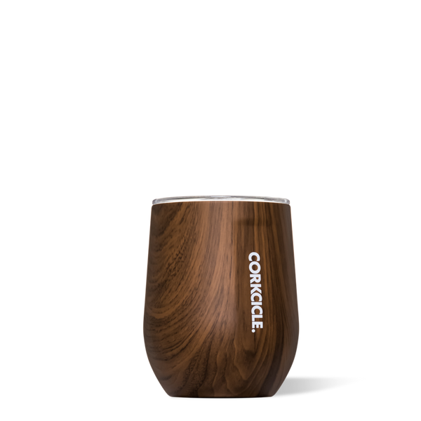 Corkcicle Stemless - 12oz. - Walnut Wood