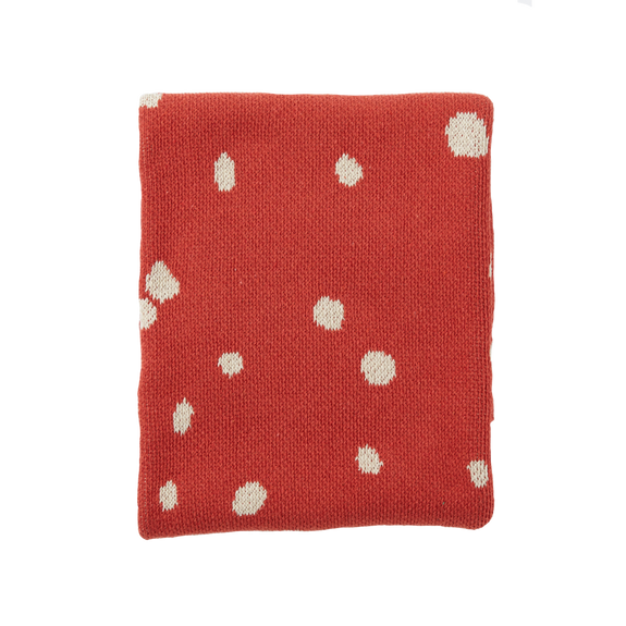 Child Blanket Dot Ladybug