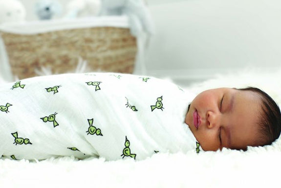 Classic Muslin Swaddles Set of 4 - Jungle Jam