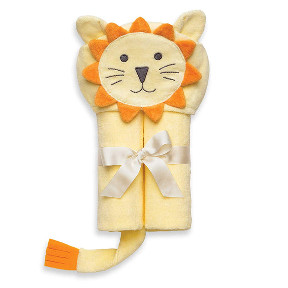 Lion Hooded Baby Bath Wrap