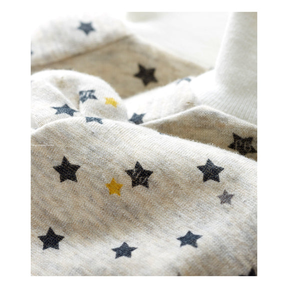 Beanie & Booties Set - Stars