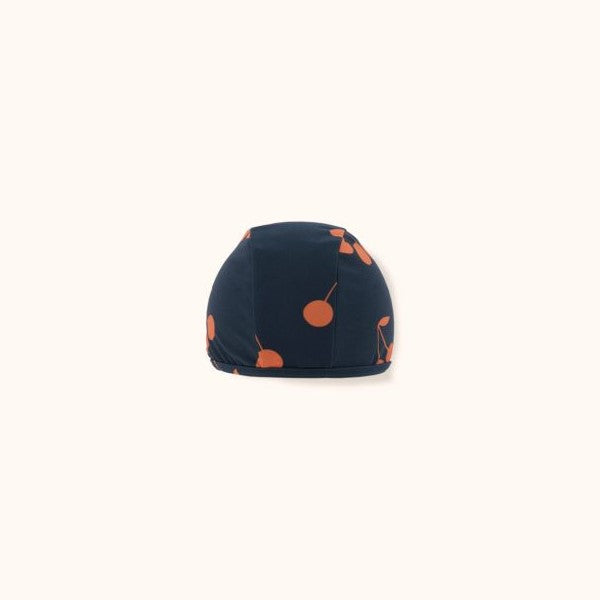 Cherries Swim Hat Navy/Red
