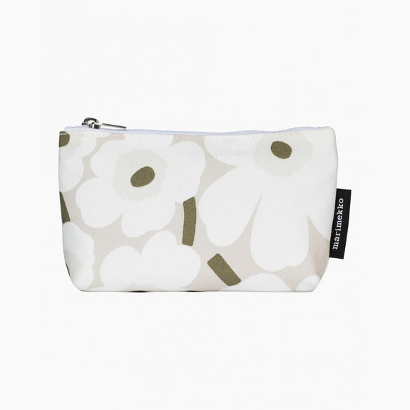 Eelia Mini Unikko cosmetic bag (beige, white, greygreen)