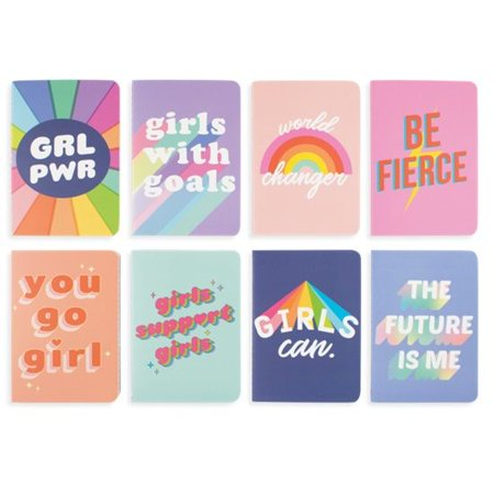 Grl Pwr Pocket Pal Journals - Set Of 8