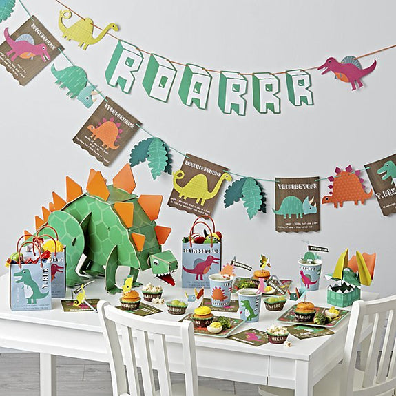Dinosaur Party Cups, Set of 12