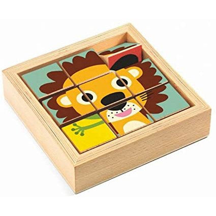 Tournanimo Wooden Puzzle