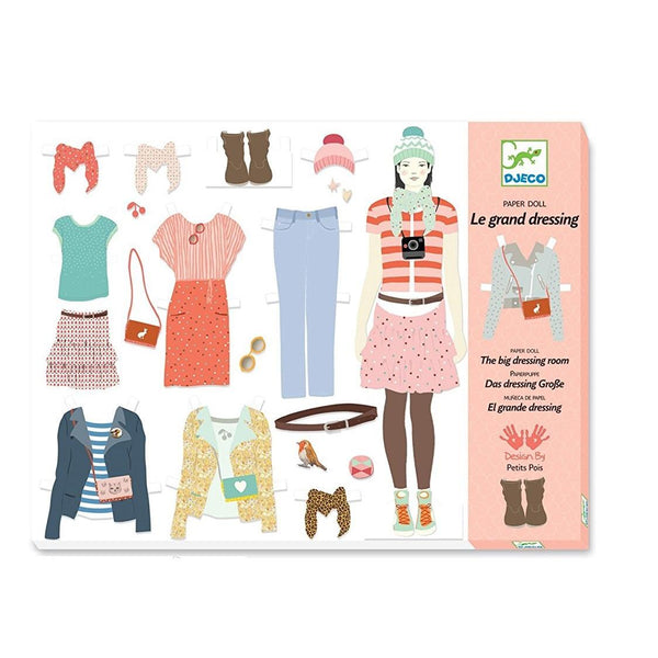 Ooh Fashion Paper Doll Set