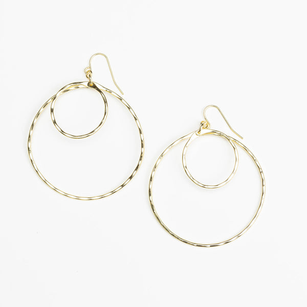 Harlow Double Hoop Earrings