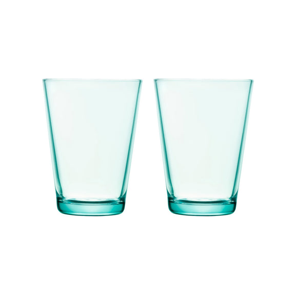Kartio Drinking Glasses - Water Green 13.5oz.