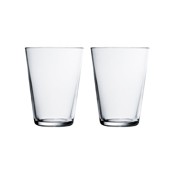 Kartio Drinking Glasses - Clear 13.5oz.