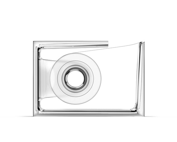Roll-Air Tape Dispenser - Transparent/Clear