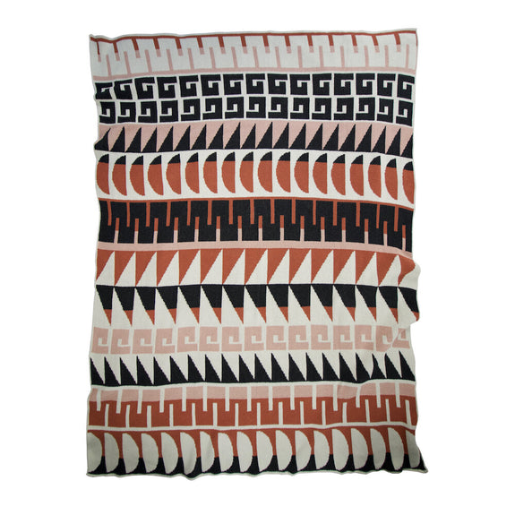 Felix Blush Terracotta Throw
